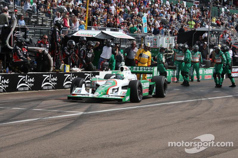Pitstop Tony Kanaan, Andretti Autosport