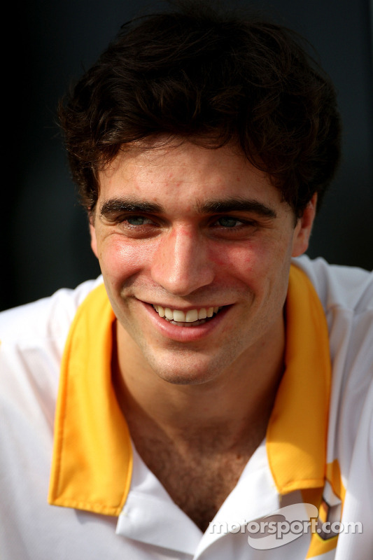 Jerome D'Ambrosio, Test Driver, Renault F1 Team