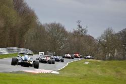 F3 cars heading towards lakeside