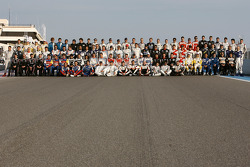 Le Mans Series drivers photoshoot