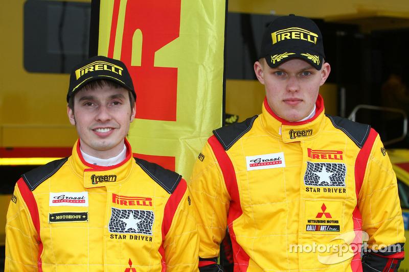 Отт Тянак, Mitsubishi Lancer Evo X, Pirelli Star Driver