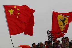Fans en vlaggen