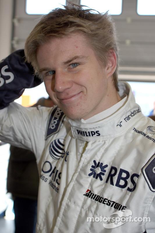 Nico Hulkenberg test de Porsche 911 GT3 R Hybrid