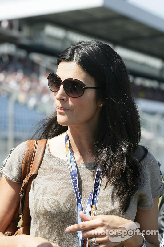 Karen Minier, vriendin van David Coulthard, Mucke Motorsport, AMG Mercedes C-Klasse