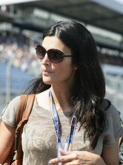 Karen Minier girlfriend of David Coulthard, Mücke Motorsport, AMG Mercedes C-Klasse