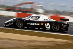 #34 Triple H Team Hegersport Maserati MC12: Matteo Bobbi, Bert Longin
