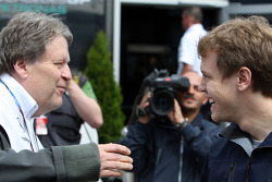 Norbert Haug, Mercedes, Motorsport chief, Sebastian Vettel, Red Bull Racing