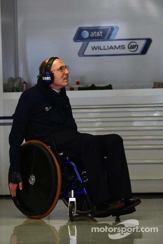Sir Frank Williams, WilliamsF1 Team, Managing Director, Team Principal