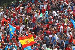 Fans van Ferneno Alonso, Scuderia Ferrari
