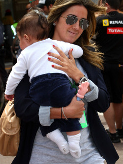 Rafaela Bassi, Girl Friend, Wife of Felipe Massa and his son Felipinho