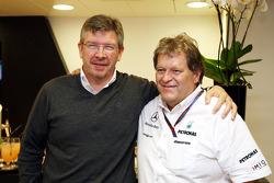 Ross Brawn Takım Patronu, Mercedes GP, Norbert Haug, Mercedes, Motorsport chief
