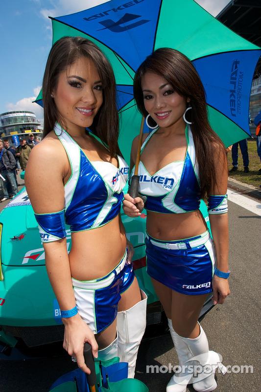 Falken Tires girls