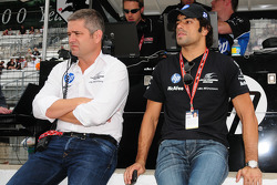 Gil de Ferran and Raphael Matos