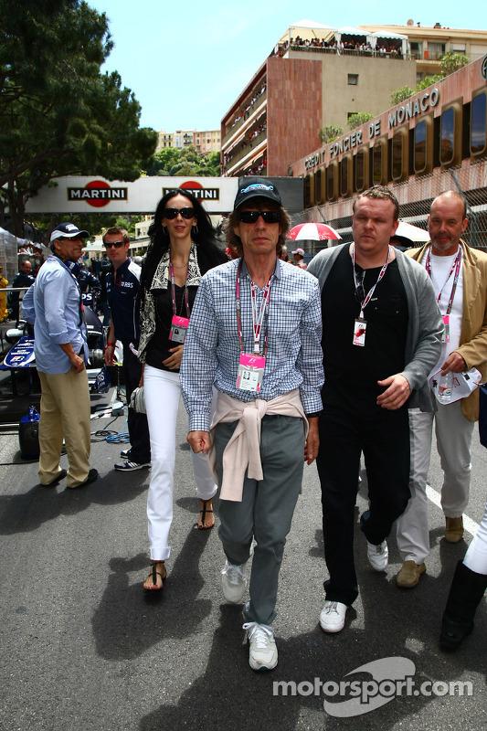 Mick Jagger At Monaco Gp On September 26th 2011