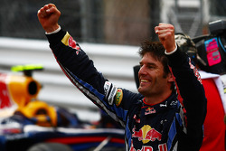 Première place Mark Webber, Red Bull Racing