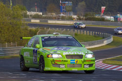 #128 Volvo S60 Turbo: Klaus Ebbing, Martin Bailey, Mike Reedy, Kean Booker