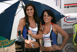 Lovely Infineon Raceway girls