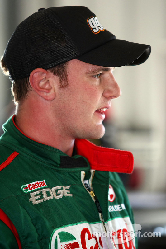 Tim Blanchard test de Castrol Edge Racing Commodore