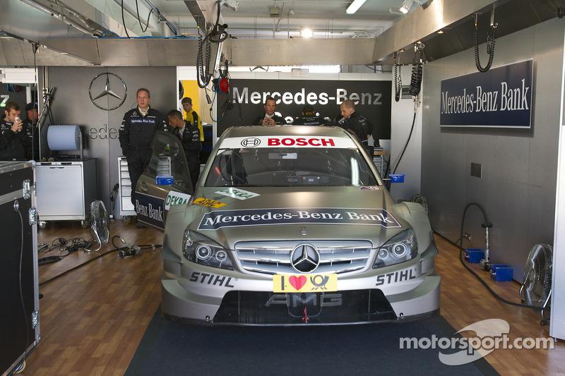 Auto van Bruno Spengler, Team HWA AMG Mercedes