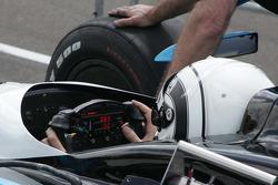 Dashboard/Steering Wheel for Tomas Scheckter, Dreyer & Reinbold Racing