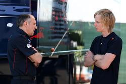 Franz Tost, Scuderia Toro Rosso, Team Principal, Brendon Hartley, Red Bull reserve rijder