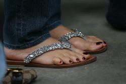 shoes of Corina Schumacher, Corinna, Wife of Michael Schumacher