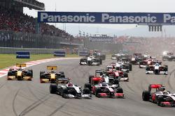 Michael Schumacher, Mercedes GP, Jenson Button, McLaren Mercedes