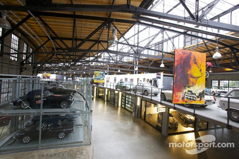 Auto's in de opbergbox