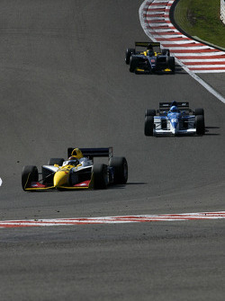 #12 Philippe Bourgois, G-Force Indycar and #16 Abba Kogan, Tyrrell 023 F1 and #8 Ingo Gerstl, Dallara GP2