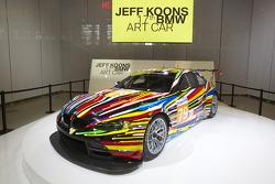 BMW Art Car presentation, Pompidou Center, Paris: the 17th BMW art car