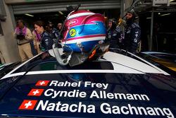 Helmet of Natacha Gachnang