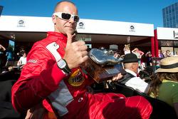 Gianmaria Bruni with the Jaguar Award