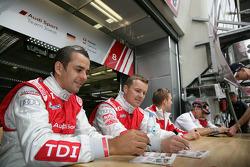 André Lotterer, Marcel Fässler, Benoit Tréluyer