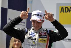 Podium, rookie,  Joel Eriksson  Motopark Dallara F312 – Volkswagen