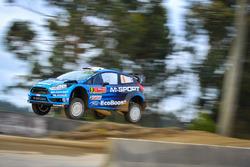 Эрик Камилли и Бенжамин Вейя, M-Sport Ford Fiesta WRC