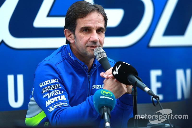 Davide Brivio, Suzuki MotoGP press conference