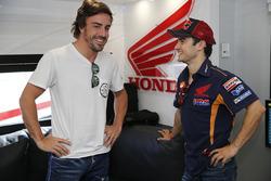 Fernando Alonso, Dani Pedrosa, Repsol Honda Team