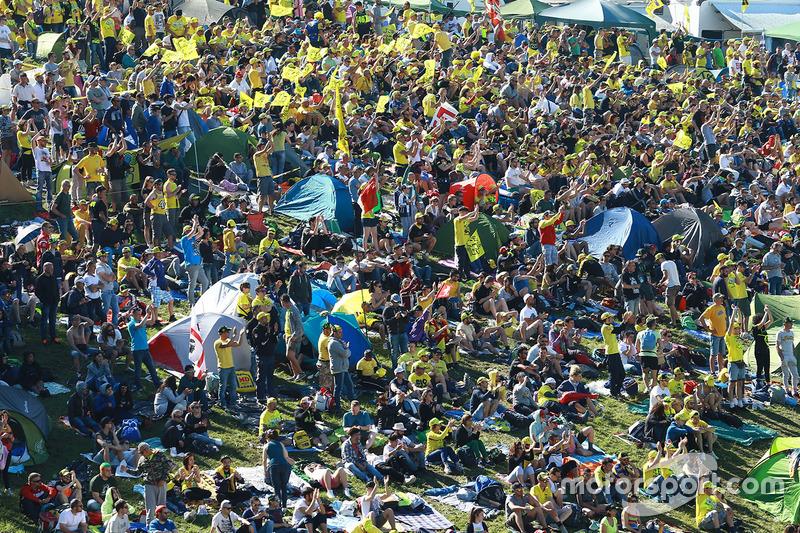 Fans en Mugello