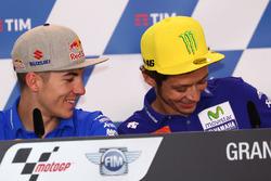 Maverick Viñales, Team Suzuki MotoGP, Valentino Rossi, Yamaha Factory Racing