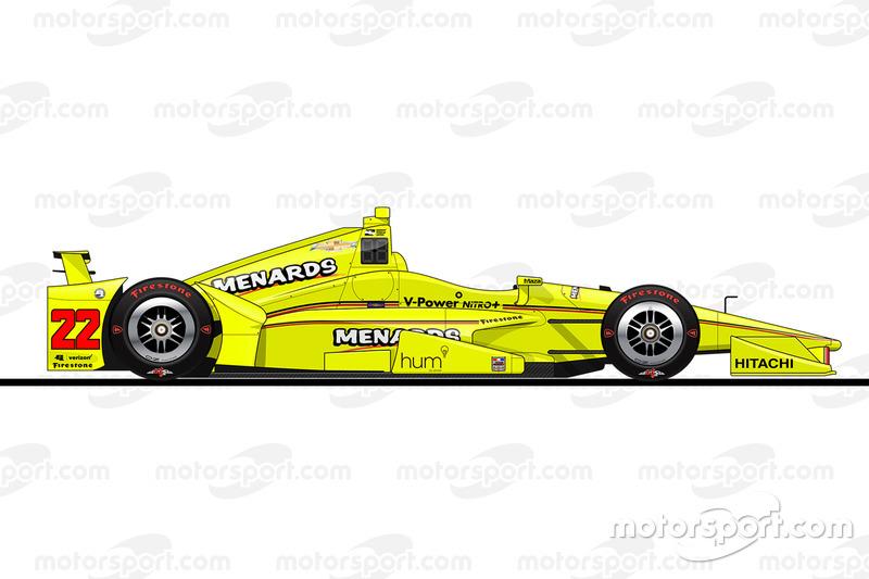 Startposition 8: Simon Pagenaud (Penske-Chevrolet)