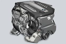 BMW 750d motor