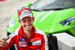 Stoner and Dovizioso Lamborghini experience