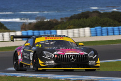 #19 Hogs Breath Café/Griffith Corporation Mercedes-AMG GT3: Mark Griffiths
