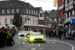 #75 Mann Filter Team Zakspeed, Mercedes-AMG GT3: Кеннет Хайер, Себастьян Аш, Лука Людвіг, Даніель Кейлвітц