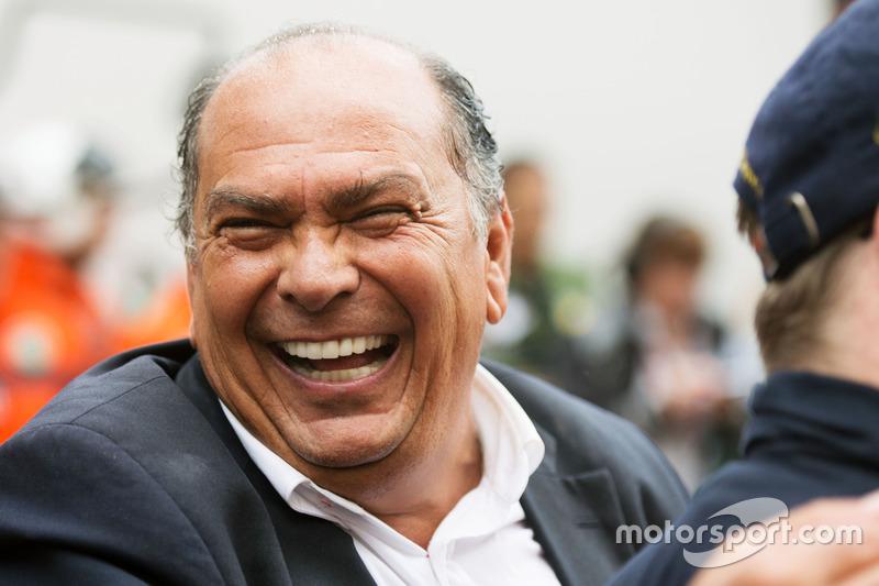 Antonio Pérez, padre de Sergio Pérez, Sahara Force India F1 Team