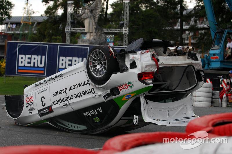 Unfall von Augusto Farfus