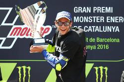 Vincitore della gara Valentino Rossi, Yamaha Factory Racing