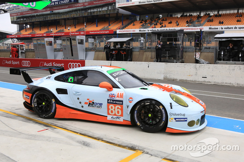 10. LMGTE-Am: #86 Gulf Racing, Porsche 911 RSR