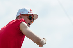 Mick Schumacher, Prema Powerteam, excited while watching the DTM race at the track
