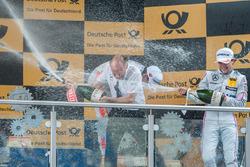 Podyum:  Lucas Auer, Mercedes-AMG Team Mücke, Mercedes-AMG C63 DTM